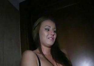 PublicAgent Sex in the toilet with sexy dark brown