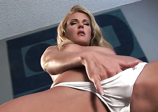 Samantha Ryan stripping down to her birthday suit and has fun alone
