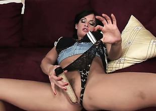 Breathtakingly hot cutie Tory Lane gets her back door opened by anal gatecrasher