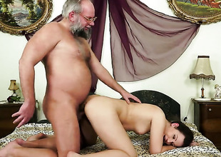 Redhead Hadjara spends time doing it with hard dicked bang buddy