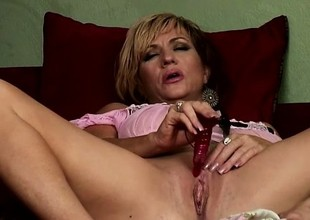 Cheating MILF gets at it with large Negro dudes when her hubby's away
