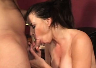 Incomparable Selena Steele gives some juvenile dick the love of a woman