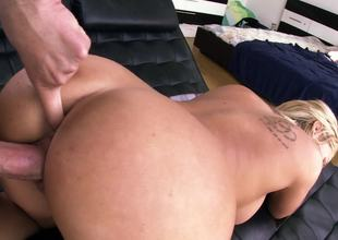 Eating out Olivia Austin and fucking her soaking wet pink pussy