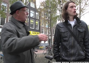 Swedish guy in Amsterdam gets to bang a sexy hooker