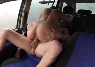Whore MILF Get Paid for Car Fuck