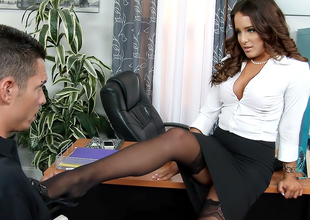 Mila Marx & Tyler Metallic in Naughty Office