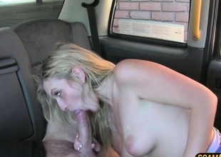 Blond Canadian playgirl gets a free hot cum
