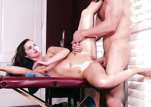 Lily Carter is wet as the deep blue sea in anal scene with Johnny Sins