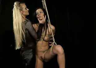 Blonde Katy Parker and Cipriana enjoy lesbian sex session they wont pretty soon forget