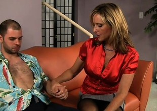 Jodi West is a busty comme ‡a doctor eager to get fucked by a juvenile stud