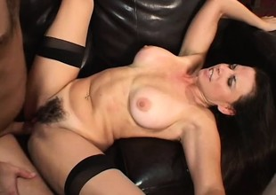 Beautiful Selena Steele gives some young dick the love of a woman