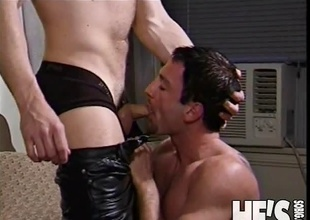 What's the best thing to do when u get out of the shower? That's right boys...suck a hard cock! In this scene we've got two hunky muscular studs going at each other previous to one of 'em bows over and gets his ass drilled take pleasure in a whore!