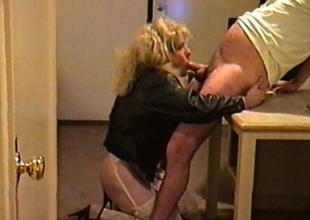 Crossdresser trinity loves engulfing cock