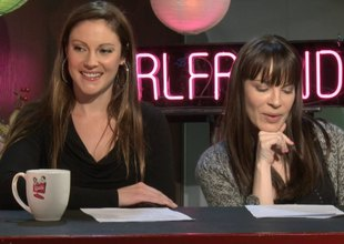Shy Love is a smarty talking about the adult business on a chat show