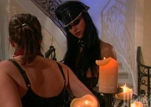 Hawt lesbian action with naughty nice wazoo porn hotties Devinn Lane and Nikita Denis