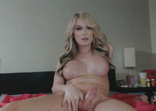Extremely Sexy Blonde Shemale