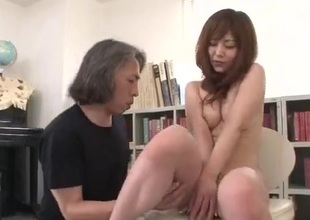 Miku Airi gets to fuck her teacher convenient class