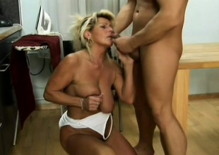 Cute old hooker with fair seta gets her old love tunnel penetrated