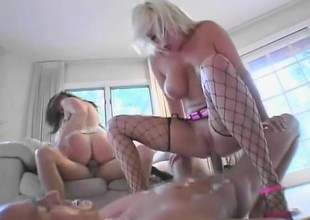 The constricted holes of Jamie Brooks and Isabella take some pounding