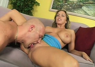 Big Wet Titties Get Cummed By Huge Penis
