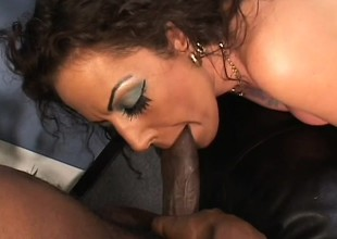 Angelica Lauren gets loud and nasty as this babe takes some ballpark dicking