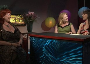 Legendary pornstar Annie Sprinkle comes on to talk about her work