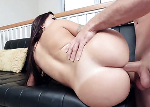 Julianna Vega is giving a blow job