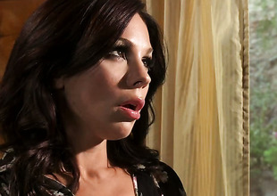 Kirsten Price gets face banged by horny fellow
