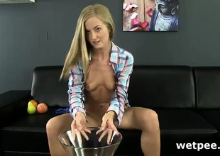 Sicilia using a wet toy to get all wet and horny