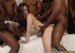 Casey Calvert Gets Assbanged By Lowering Guys