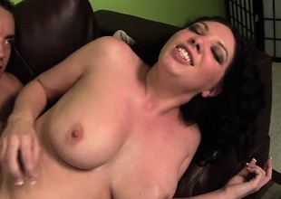 Wild housewife Kiki D'aire is in need of a hard jock banging her pussy