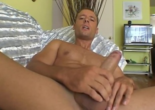 A horny Hungarian, Mario's nasty style is not to be missed.Mario Rossi's stroking scene.