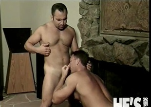 Patrick Ives and Tanner Reeves have at no time met before...until tonight! They hooked up during the time that dancing at a local club and really hit it off. Patrick invites Tanner back to his place for a white lightning and before you know it Tanner is bent over with Patrick's hard c