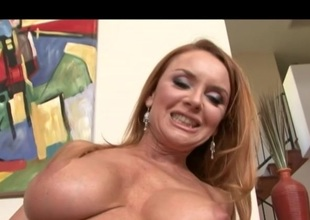 Blonde MILF has made love before next door