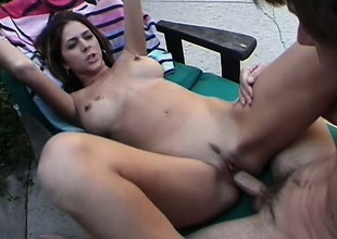 Kelsey Main ingredient adores the feeling of a big hard dick up her butt