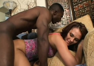 Sexy Venus wasn't ready for such brutal treatment in a nasty threesome