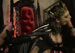 Bonnie Rotten elevates altporn with her own superheroic proportions, in her starring role in Elegant Angel's simultaneous epic: Bonnie Rotten is Squirtwoman! In this 37 minute scene you'll watch how she uses her powers for good - she's infiltrated a secret socie
